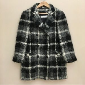 RODEO DRIVE Vintage Double Breasted Peacoat Jacket
